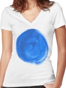 The Pills of Change Women's Fitted V-Neck T-Shirt