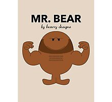 Mr Bear Photographic Print