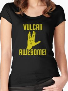 Vulcan Awesome Women's Fitted Scoop T-Shirt