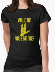Vulcan Awesome Womens Fitted T-Shirt