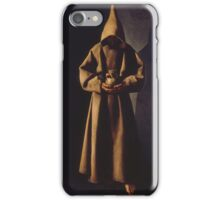 Francisco de Zurbarán (Spanish, ) Saint Francis of Assisi in His Tomb, iPhone Case/Skin