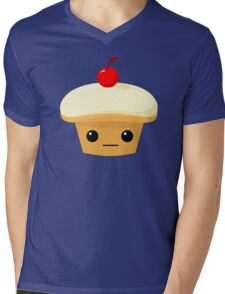 Cupcake with a Cherry on top! Mens V-Neck T-Shirt