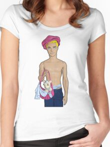Cutie With A Chihuahua! Women's Fitted Scoop T-Shirt