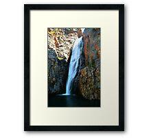 Porcupine Falls Framed Print