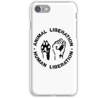 animal Liberation iPhone Case/Skin