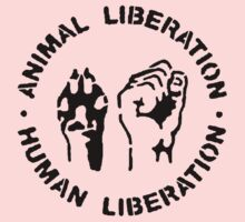 animal Liberation Kids Tee