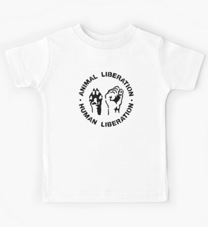 animal Liberation Kids Tee
