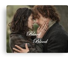 Outlander/Jamie & Claire Fraser/Blood of my Blood Canvas Print