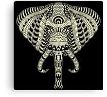 Ethnic Elephant Canvas Print