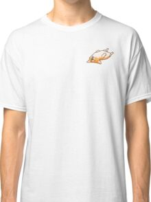 Corgi Sleeping Classic T-Shirt