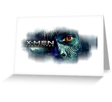 Nightcrawler  x-men apocalypse  Greeting Card