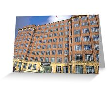 London Deco Offices: King's College London Greeting Card