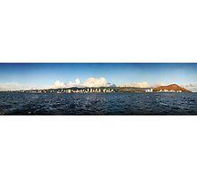 Honolulu Panorama Photographic Print