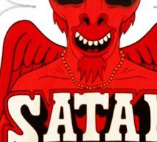 Satan Is My Homeboy Sticker