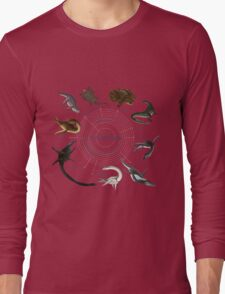 Sauropterygia: The Cladogram Long Sleeve T-Shirt