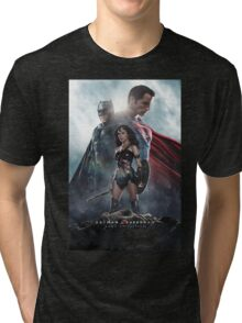 The Dawn Of Justice 3 Warriors Tri-blend T-Shirt