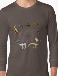 Sauropodomorpha: The Cladogram Long Sleeve T-Shirt