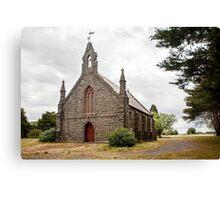 Countryside Church Canvas Print