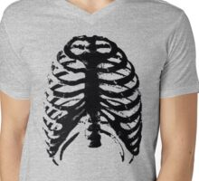 Lungs-Driving-illustrate Mens V-Neck T-Shirt