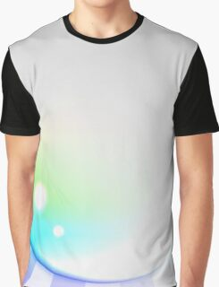 Abstract Spectral Sun Background Graphic T-Shirt