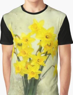 Daffodils in springtime Graphic T-Shirt