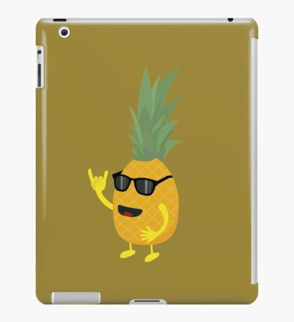 Heavy Metal Pineapple iPad Case/Skin
