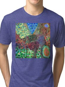 The Egg in the Magic Forest  Tri-blend T-Shirt
