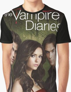 THE VAMPIRE DIARIES COVER Graphic T-Shirt