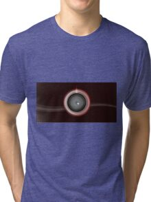 Abstract Power Switch Background Tri-blend T-Shirt