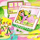 Editorial Illustration - Modern Artists by Nani Puspasari