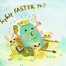 Happy HipEaster by Nani Puspasari