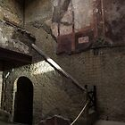 Herculaneum House Wall Art - Murals, Mosaics and Arches by Georgia Mizuleva