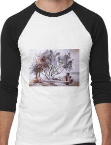 akwarelka 54 Men's Baseball ¾ T-Shirt