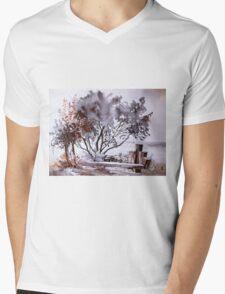 akwarelka 54 Mens V-Neck T-Shirt