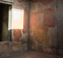 Herculaneum House Wall Art - Sun Spot on the Colorful Murals Sticker