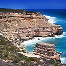 Kalbarri Coastal Cliffs - Western Australia  by EOS20
