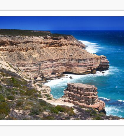 Kalbarri Coastal Cliffs - Western Australia  Sticker