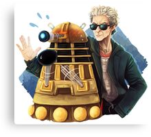 Doctor Who - Explaaiiin!! Canvas Print