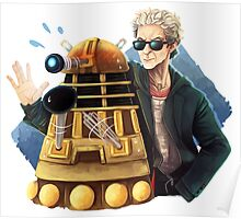 Doctor Who - Explaaiiin!! Poster
