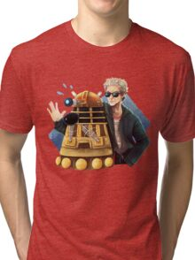 Doctor Who - Explaaiiin!! Tri-blend T-Shirt