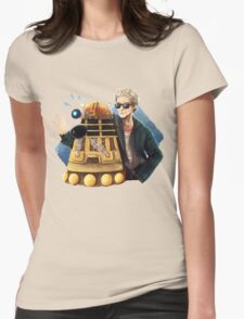 Doctor Who - Explaaiiin!! Womens Fitted T-Shirt