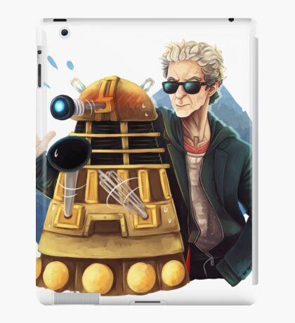 Doctor Who - Explaaiiin!! iPad Case/Skin
