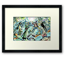 ONE PIECE - LUFFY / CREWMATE Framed Print