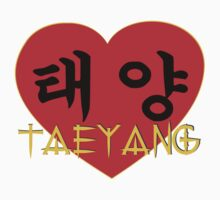 ♥♫I Love Taeyang-Fabulous K-Pop Clothes & Phone/iPad/Laptop/MackBook Cases/Skins & Bags & Home Decor & Stationary & Mugs♪♥ Kids Tee