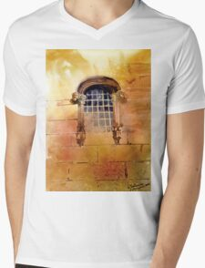 akwarelka 72 Mens V-Neck T-Shirt