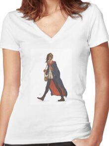 Sirius Black Women's Fitted V-Neck T-Shirt