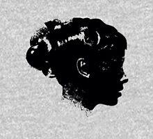 Woman-illustration-Black Mens V-Neck T-Shirt