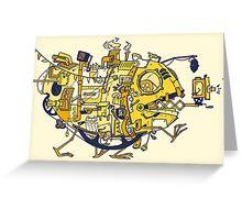 Movie machine Monster Greeting Card