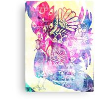 Shake a tail feather - lilac dreams Canvas Print