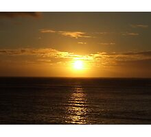 Fijian Sunset Photographic Print